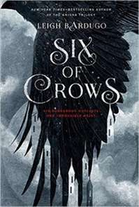 """Six of Crows by Leigh Bardugo. Six Dangerous Outcasts. One Impossible Heist. Set in her fantastical world of Grisha, Leigh Bardugo's """"Six of Crows"""" is a fantasy heist story that will give any eager readers an indication why her writings are growing in popularity in Young Adult circles."""
