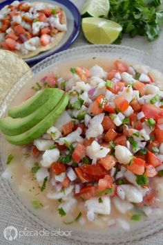 ideas for seafood pasta keto Authentic Mexican Recipes, Fish Recipes, Seafood Recipes, Mexican Food Recipes, Seafood Meals, Recipies, Seafood Pasta, Seafood Dishes, Healthy Cooking