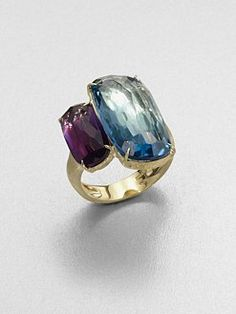 Marco Bicego - 18K Gold Semi-Precious Two-Stone Ring