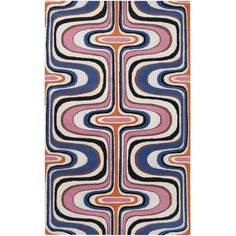 Shop for Tepper Jackson Hand-tufted Contemporary Multi Colored Swirl Dreamscape Wool Abstract Rug x Get free delivery On EVERYTHING* Overstock - Your Online Home Decor Store! Color Swirl, Colour, Hand Tufted Rugs, Geometric Rug, How To Clean Carpet, Throw Rugs, Rug Making, Mark Making, Rugs On Carpet