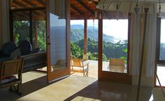 Anamaya Resort in Costa Rica - View across the yoga deck to the ocean.take me back.