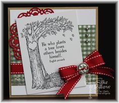 Stamps - Our Daily Bread Designs Autumn Tree, ODBD Christmas Paper Collection 2013, ODBD Custom Doily Dies