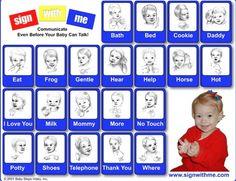 Easy sign language chart!