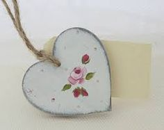 painted wooden hearts - Αναζήτηση Google