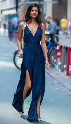 Sara Sampaio in The Jet Set Diaries out in NYC. #bestdressed