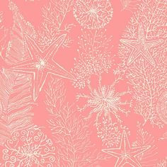 I pinned this Coral Reef Wallpaper in Coral from the Seaside Chic Wallpaper event at Joss and Main!
