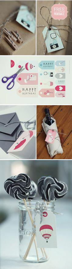 The Elephant Shoe, par le biais du bien nommé Pretty Blog, nous offre ici 5 cartes, 3 mini cartes et 13 tags pour souhaiter un Joyeux Anniversaire à nos proches !... ou à détourner vers nos créations sur le sujet... ou les deux : pourquoi choisir ?...
