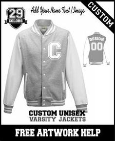 Customised baseball jackets varsity