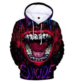 Psycho Clown Joker Face Unisex Crewneck Funny Halloween 2017 Costume Sweater