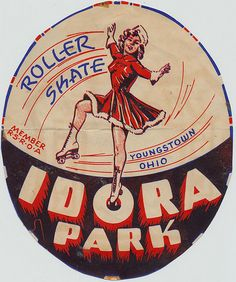 Idora Park - Youngstown, Ohio  Spent many of my teen hours here....