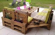 Palletten, Palletten und immer wieder Palletten! 10 SUPER TOLLE Ideen mit Palletten für den Garten! - DIY Bastelideen
