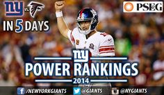#NYGiants - Where do the Giants stand in the latest NFL power rankings presented by PSEG FIND OUT: