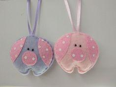 Возможно изготовление в любой цветовой гамме. Цена указана за 1 шт. Pig Crafts, Diy And Crafts, Crafts For Kids, Fabric Toys, Fabric Crafts, Sewing Crafts, Felt Christmas, Christmas Crafts, Pig Baby Shower