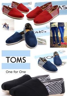 Toms shoes-One for One