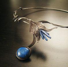 justka,tin stainless steel lapis lazuli