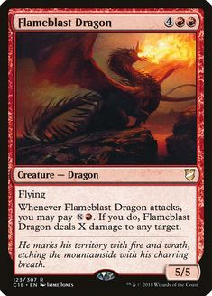 Magic the Gathering THE DREAMER Dragon NM 1x INTET MTG Commander