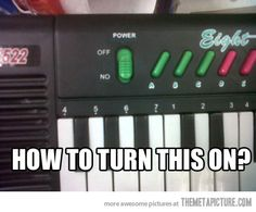 Confusing keyboard…