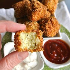 "Life changing Cauliflower ""Tots"", finally a healthy tater tot!"