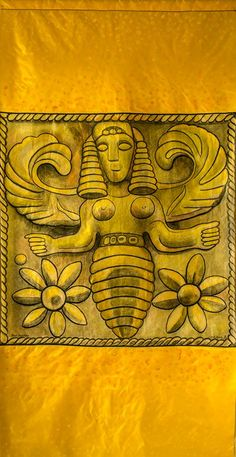 The emblem of Potnia, the Minoan-Mycenaean Mistress, is a Mother Bee. Her priestesses were named Melissa. Bee maidens, usually identified with the Thriae, bestowed gifts of prophecy. The bee, found in the Near East, Egyptian, Aegean and Mayan cultures, was believed to be the sacred insect that bridged the natural world to the underworld.