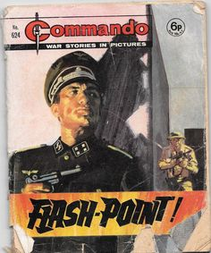 Commando No. Comic Book Covers, Comic Books, Ian Kennedy, Cheap Books, Comics For Sale, War Comics, Classic Comics, Pulp Art, Pulp Fiction