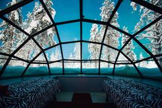 Kakslauttanen glass igloo