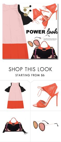 """Power Look"" by fshionme ❤ liked on Polyvore featuring Gianvito Rossi, Gucci and MyPowerLook"