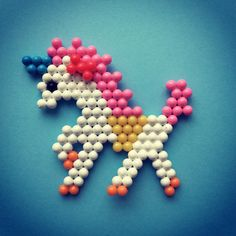 Look at our Aquabeads unicorn we've just made... can you make any mythical creatures using your Aquabeads?