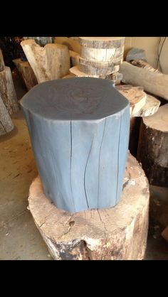 Red Elm with gray stain only, just before a coat of clear glaze