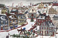 Sharon Ascherl - Folk Art Paintings :: american-artists.com