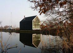 modern cabin netherlands