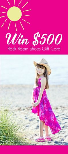 Love Shoes? You will love this Giveaway... Win $500 Gift Card for Rack Room Shoes