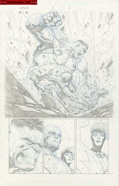 Infinity #5 p.3 by Jerome Opena