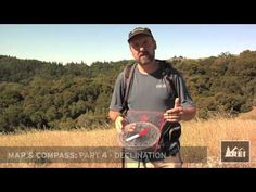 How to Transfer a Bearing from a Map to Compass Video