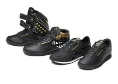 Alicia Keys Launches Limited Edition Collection for Reebok - Alicia Keys launches a limited edition collection for Reebok featuring some uber-cool sneakers. Alicia Keys, Reebok, All Black Sneakers, High Top Sneakers, Fly Shoes, All About Shoes, Superfly, Kinds Of Shoes, Shoe Art