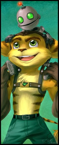 || Ratchet and Clank: Bookmark by ButtercupBabyPPG on DeviantArt ||