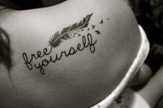 #quotes #plume #handwriting tattoo