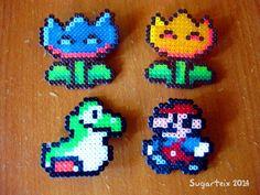 Broches de Mario Bros. Si te gustan puedes adquirirlas en nuestra tienda on-line: http://www.sugarshop.eu