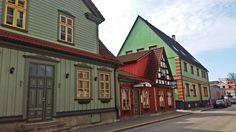 Ulica w Parnu - Estonia