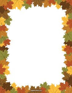 Free maple leaf border templates including printable border paper and clip art versions. File formats include GIF, JPG, PDF, and PNG. Vector images are also available. Borders For Paper, Borders And Frames, Scrapbook Paper, Scrapbooking, Scrapbook Frames, Printable Border, Border Templates, School Frame, Page Borders
