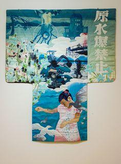 Kimono från Hiroshima (Berit Jonsvik) - Förödelsens bilder