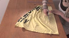 How to Cut a T-Shirt Into a Racerback Braided Tank Without Sewing : DIY ...