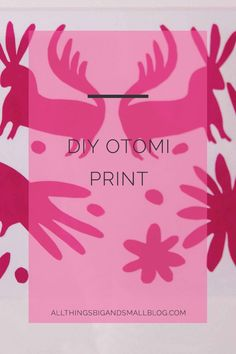 This quick budget-friendly DIY Otomi print achieved lots of style for only the cost of a frame, scissors, and construction paper. This is such an easy project, and was a wonderful way to add cheap original artwork to our home. Read more on this project, and other DIYs at AllThingsBigAndSmallBlog.com where DIY and Style meet.