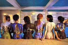 Pink Floyd dreams.... one of the early ones that got me into body paint.