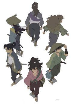 旅立ち Teamwork, Sketches, Fan Art, Animation, Illustration, Artwork, Anime, Fictional Characters, Scarlet