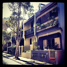 Surry Hills terrace houses. You will be mine one day.