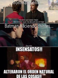Memes Marvel, Avengers Memes, Marvel Funny, Funny Comics, Marvel Comic Universe, Marvel Dc Comics, Infinity War Memes, Internet Memes, Best Memes