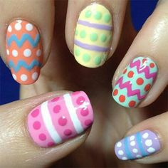 92 Wonderful Easter Nail Art Ideas, 40 Insanely Cute Easter Nail Designs for Your Inspiration, 16 Cute Easter Nail Designs Best Easter Nails and Nail Art, Five In Five Easy Easter Nail Art, Гвоздь 10 Egg Cellent Easter Nail Art Ideas. Easter Nail Designs, Easter Nail Art, Holiday Nail Designs, Nail Designs Spring, Holiday Nails, Nail Art Designs, Nails Design, Polish Easter, Pedicure Designs