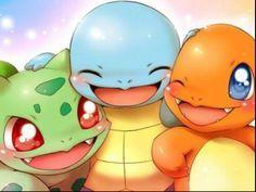 Image de pokemon, bulbasaur, and squirtle Pokemon Charmander, Pokemon Legal, Pokemon Comics, Pokemon Fusion, Pokemon Cards, Pikachu Kunst, Pikachu Art, Cute Pikachu