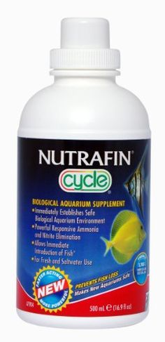 Nutrafin Cycle Biological Filter Supplement, 16.9-Ounce ** You can get more details by clicking on the image.(It is Amazon affiliate link) #PetsSupplements