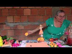 Como fazer bonecas com material reciclado - YouTube